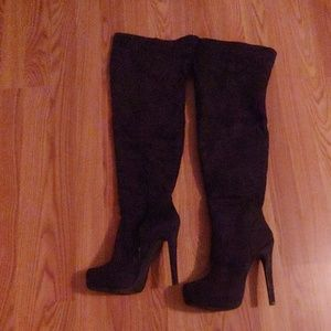 Just Fab Prima thigh high boots